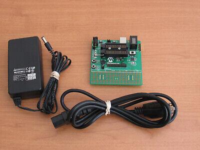 Microchip 16-bit 26-pin Demo Board 02-01989-rb Bur071790361 - Untested