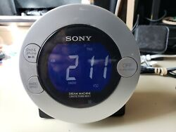 Sony Dream Machine Dual Alarm Clock Radio #  ICF-C7iP 30 Pin iPod/iPhone Dock