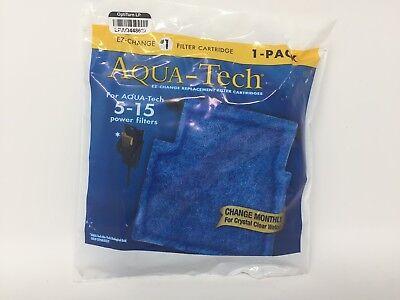 Aquarium Water Filter Aqua Tech 5 15 Gallon Cartridges Fish Tank Clean Premium