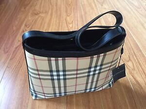 BNWT Authentic Burberry Multicolour Nova Check Shoulder Bag Tote Waterloo Inner Sydney Preview