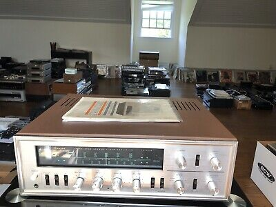 Rare Sansui TR-707A Stereo AM/FM Tuner Amplifier Perfect Working Condition