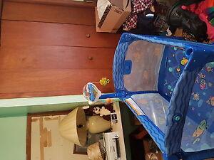 Fisherprice Playpen,Swing and Highchair $300.00 /OBO