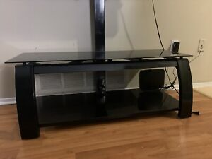 Glass TV stand with Mounting