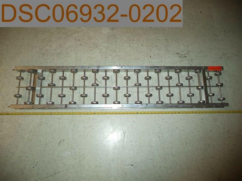 Ashland Conveyor 12x10x05A Skatewheel Conveyor, 5ft L, 12in W, 10 wheels per ft.