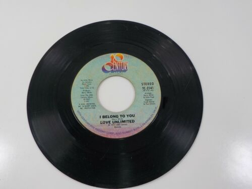20th Century Records Love Unlimited I Belong To You ( Barry White ) 1974 45 RPM