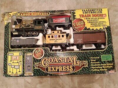 Eztec Coastal Express Radio Control Model 36911 Train Set Christmas Present Gift