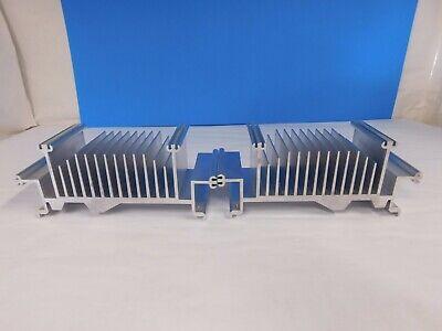 2x Large Aluminum Heat Sink Diy Amplifier Led. 8 X 3.5 X 3 26 Oz