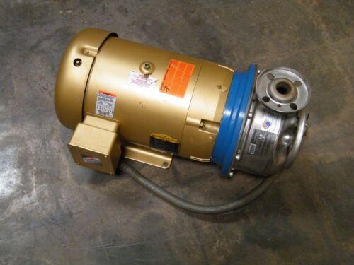 10SH2L55A0 Goulds SSH Centrifugal Pump w/ 10 hp baldor motor EJMM3711T 10SHK6