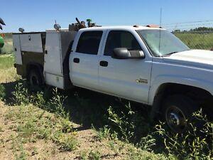 Duramax service truck 3500