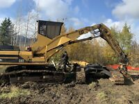 Cat 325 Button top loader