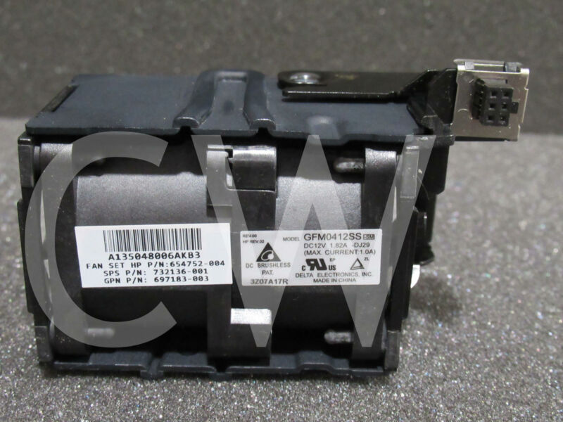 822531-001 732136-001 HP DL360 GEN8 Dual Rotor HOT PLUGGABLE FAN ASSEMBLY MODULE