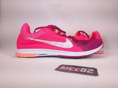4a2a65b0afc1 Nike Men Zoom Streak LT 3 Running Shoe sz 13  819038 602  Racer pink