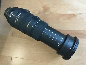 Sigma 50-500mm APO DG OS Lens Nikon Mount