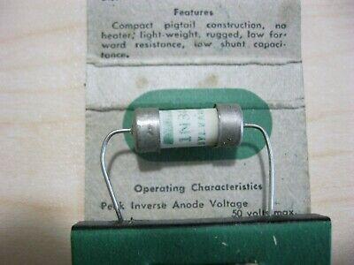 1n34 Germanium Diode Ceramic Sylvania Set Of 2