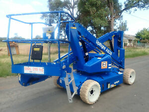 UPRIGHT AB38N 13.5M 44FT KNUCKLE BOOM SCISSOR LIFT ELEVATED WORK PLATFORM EWP GENIE JLG NIFTY Austral Liverpool Area Preview