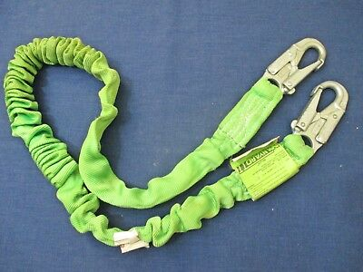 Miller Lanyard Shock Absorbing 6 216m 310 Lb Capacity Usa Used Fast Shipping