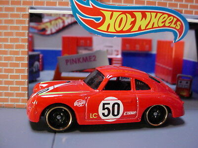2019 Hot Wheels PORSCHE 356A OUTLAW ✿ red;50☆Multi Pack Exclusive☆LOOSE