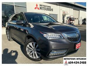 2016 Acura MDX Navigation Package; Local BC vehicle! New tires!