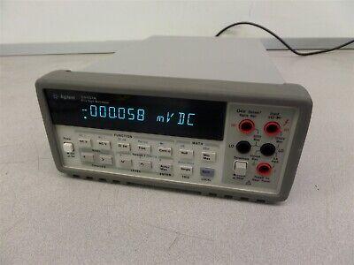 Agilent 34401a Digital Multimeter 6 Digit