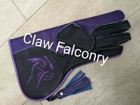 Falconry Gloves OWL Embroider Double Layer Extreme  Quality.
