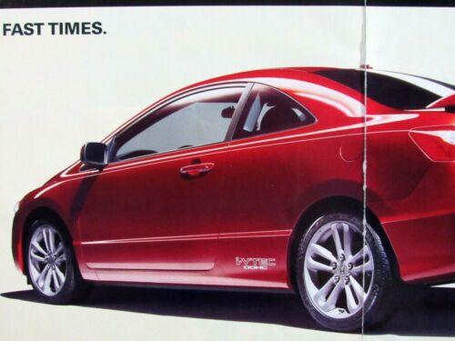 """2006 Honda Civic -FAST TIMES Original Print Ad -8.5 x 11""""-2 page"""
