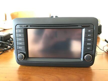Volkswagen Golf TDI/GTI Touch Screen Display Unit