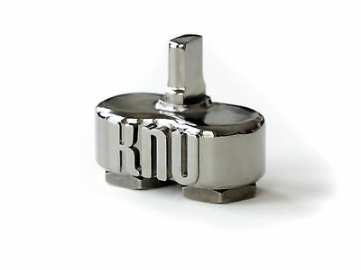 KnuKonceptz Dual 1/0 to 1/0 Gauge Amp Input Reducer Power Ground Wire Pair