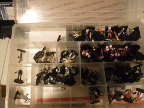 Star Wars miniatures 20 rebels  with cards,