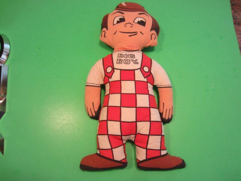 Vtg 1970s Big Boy Hamburgers 16 Inch Big Boy Cloth Advertising Doll