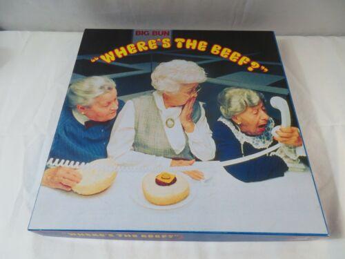 Wheres The Beef Home Of The Big Bun Wendys Hamburger Restaurant Jigsaw Puzzle