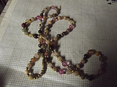 33 INDIAN STONE BEAD NECKLASSES ,BEGGAR BEADS !!! WOW !!! WHOLESALE !!!