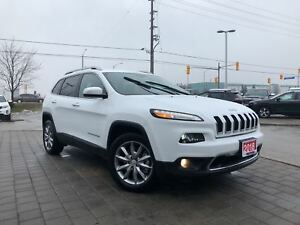 2018 Jeep Cherokee LIMITED LOW KM'S!!**LEATHER**REMOTE START**