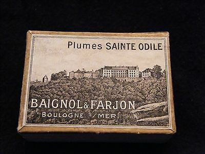Box of 144 Feathers St Odile Baignol and Farjon Boulogne on sea 2624 8/12ft 7