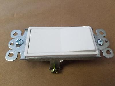 3-WAY DECORATIVE ROCKER SWITCH WHITE 3 WAY WALL LIGHT SWITCH 3 Way Decorative Switch