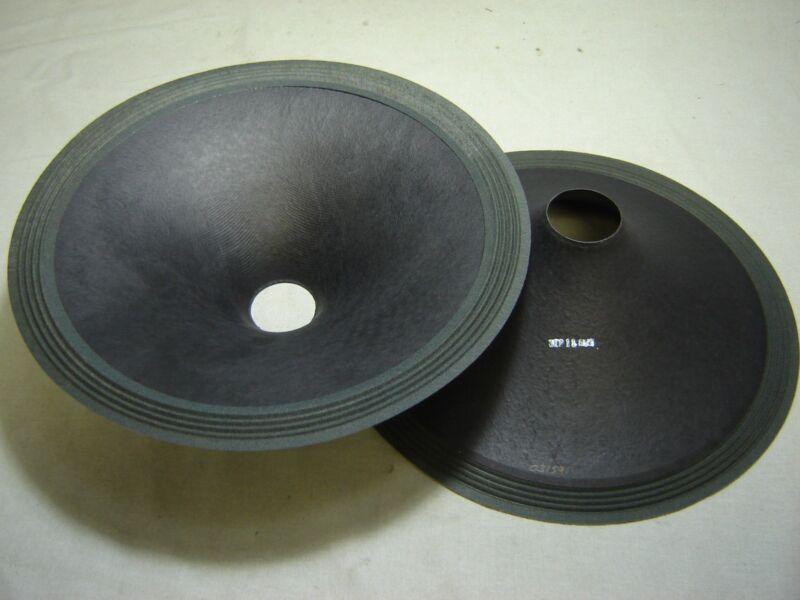 """Pair 15"""" Paper Cones - Speaker Parts -- 03159"""