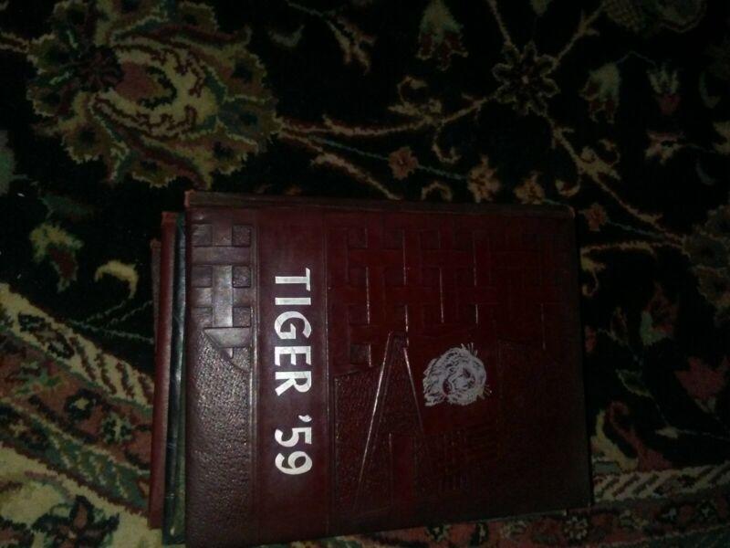 1959 ARP HIGH SCHOOL YEARBOOK TEXAS