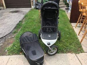 Valco baby stroller with bassinet
