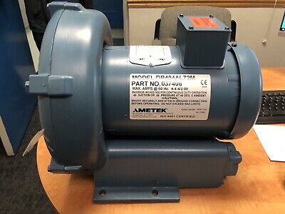 Ametek Rotron Regenerative Blower Dr404al72m 037406 230460 Vac 1 Hp Three Phase