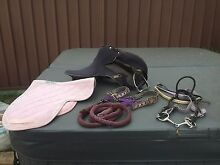 Pony Saddle, Saddle Cloth, Bridle, Bit, Head Stall and Lead Rope. Campbelltown Campbelltown Area Preview