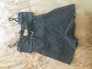 Size 12 'Subtitled' Denim Playsuit Hunters Hill Hunters Hill Area Preview