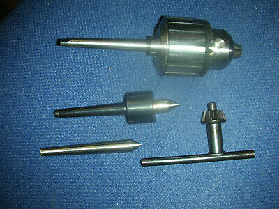 Atlas Craftsman Dunlap 109 Lathe Tooling Package Drill Chuck Livedead Centers