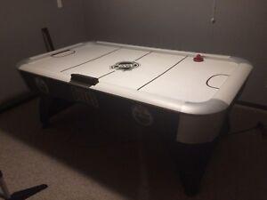 Large air hockey table