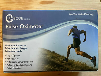 Roscoe Medical Pulse Oximeter Brand New