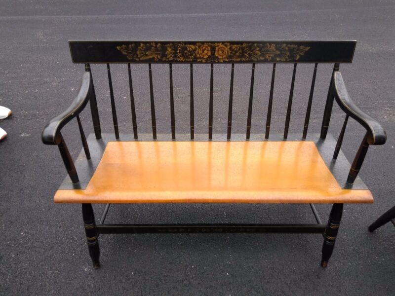 Antique Hitchcock Bench