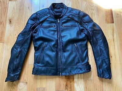 Harley Davidson Men's Willie G Reflective Skull Leather Jacket Medium $699 retai