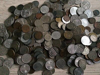100 x Münzen aus dem Deutschen Reich bis 1945 Lot Konvolut Kaiserreich Weimar