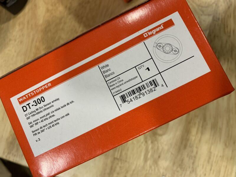 Legrand WattStopper DT-300 360 Degrees Coverage Ceiling Occupancy Sensor NEW