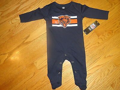 NFL Chicago Bears Infant Alshon Jeffery #17 Jersey Romper New 3-6 Months
