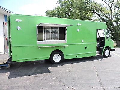 Used Custom Food Truck Ready For Equipment