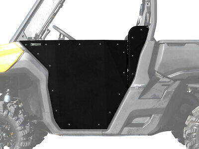 SuperATV Heavy Duty Aluminum Half Doors for Can-Am Defender (2016-2019)